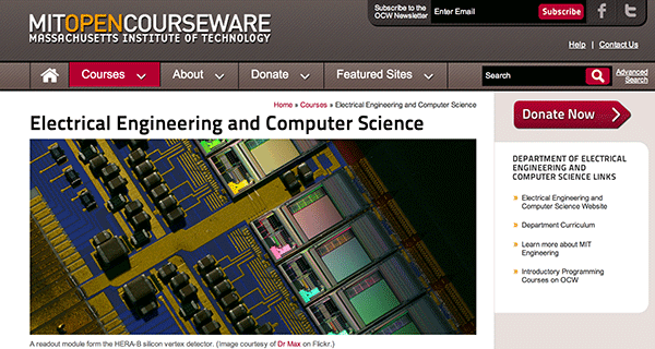 stanford open courseware computer science I spent the last 12 months learning mit's 4-year computer science curriculum, without taking  learn computer science  stanford's technolog.